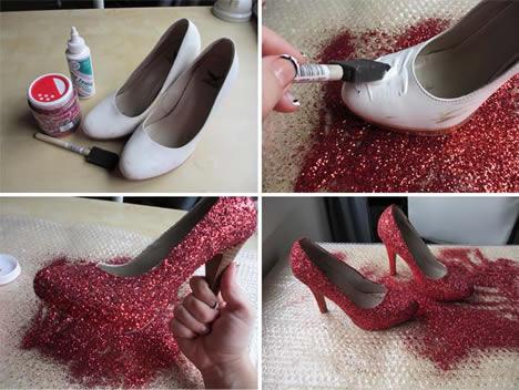 Kırmızı Ayakkabı Oje İle Boyanır Mı?